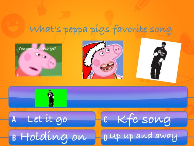 What's peppa pigs fafroite sung m89  by Nick Collins