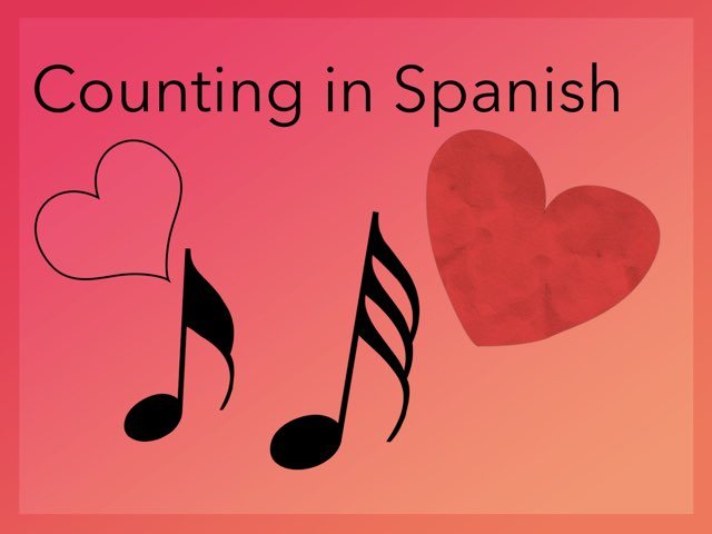Counting in spanish by Chaila grissinger