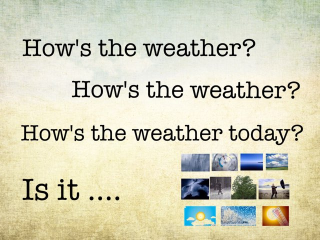 The Weather by Bente Andsbjerg