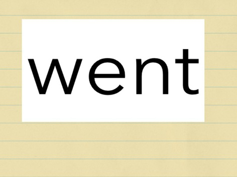 Sight word practice  by Lauren Novak