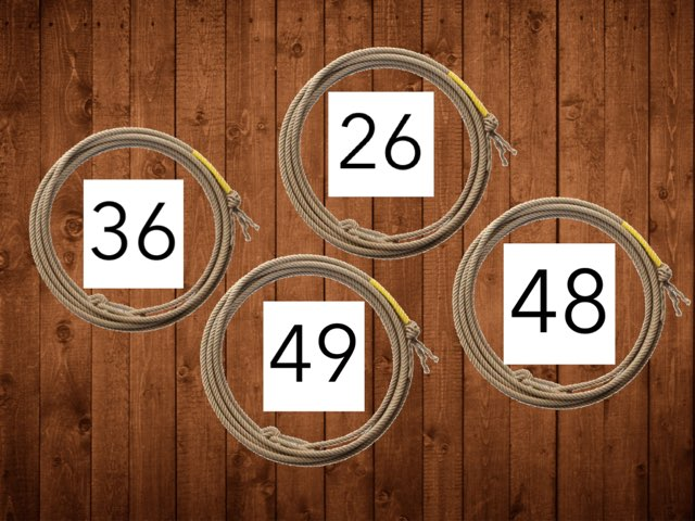 Number game. Gives you questions you answer. by Suzanne McMillan