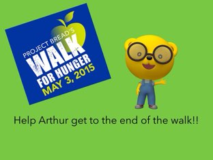 Arthur needs to finish walk for community service hours! by Doha fares