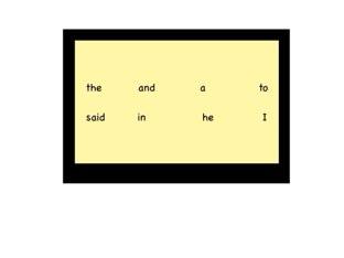 Vocabulary by Chris Williams