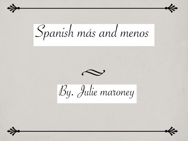 Spanish numbers game that will help you add and subtract in spanish   by Julie maroney