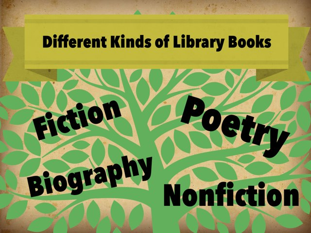 Types of Library books by Jamie Jensen