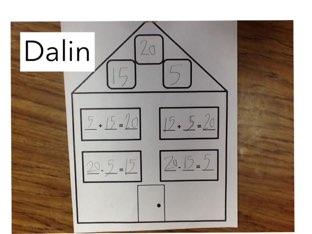 First Grade Fact Families    By: Mrs. Tamaccio's Class by Jessica tamaccio