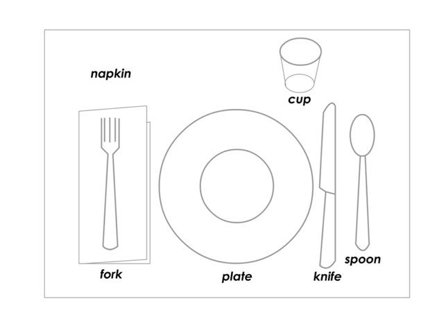 Setting the Table by Federica Carulli