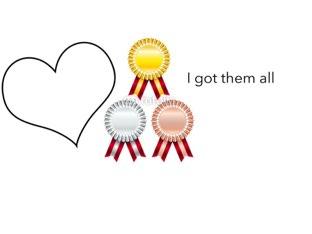 Awards  by Nevaeh  thrower