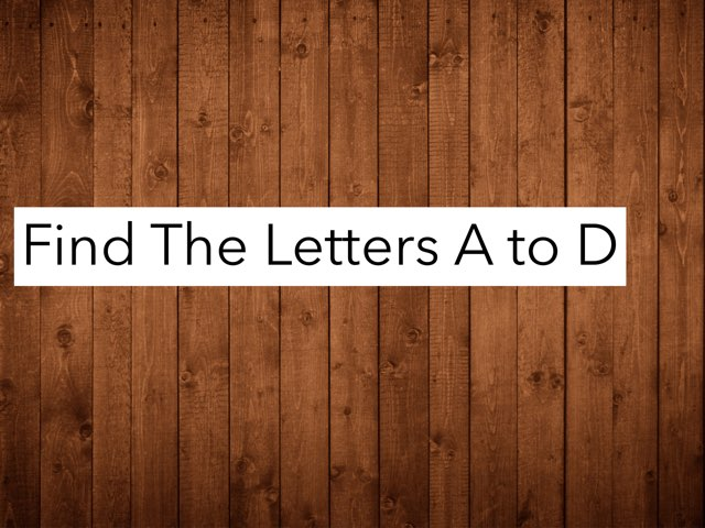 It's Because so that Baby's & Toddlers can learn their letters  by Steve Ueda
