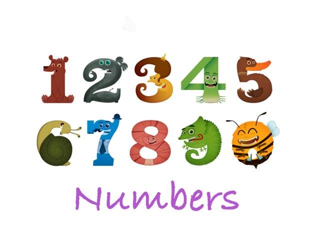 Numbers by CTJ Online