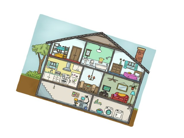 Parts of a house by CTJ Online