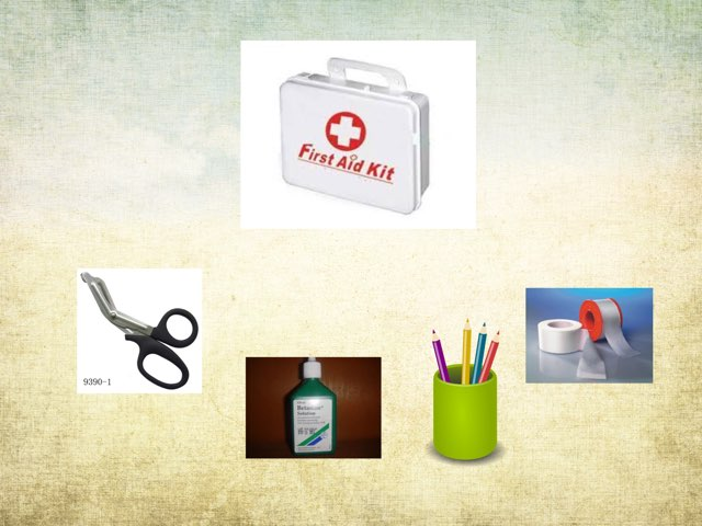 For kg about first aid kit by fajer alhammadi