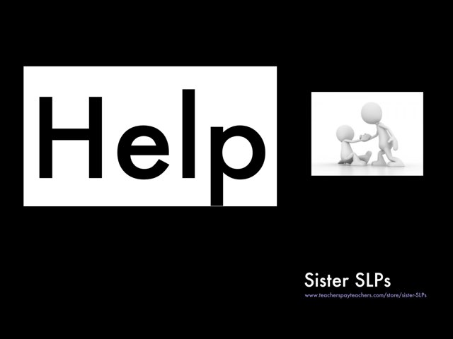 Help: Sister SLPs by Becky Price