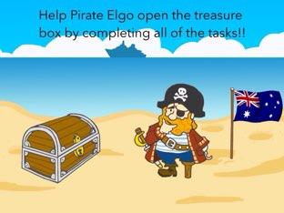 Help Pirate Elgo get his treasure. by Doha fares