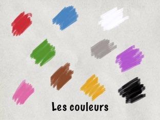 Les couleurs en français by Classics Davison