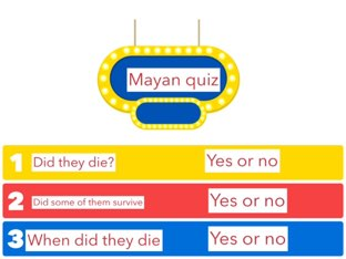 Know facts about the Mayans  by St Johns Primary