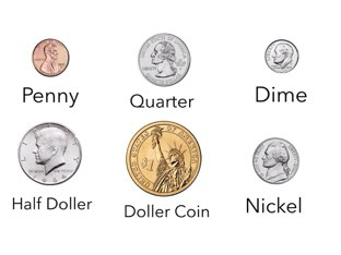 Practice US Coins by Room 207