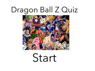 Do you know your Dragon Ball Z. by Adam  Aaaa