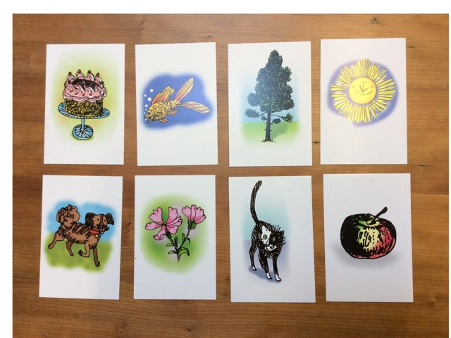 Flash cards  by Opal Class