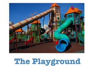 The Playground by Asma Omar