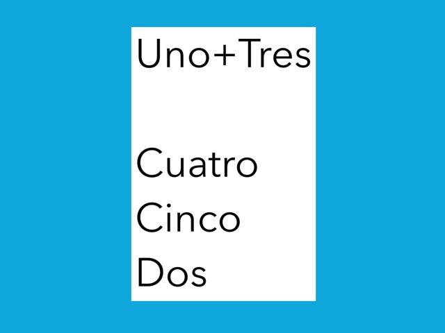 Spanish 1-10 by Ashlyn Stevenson