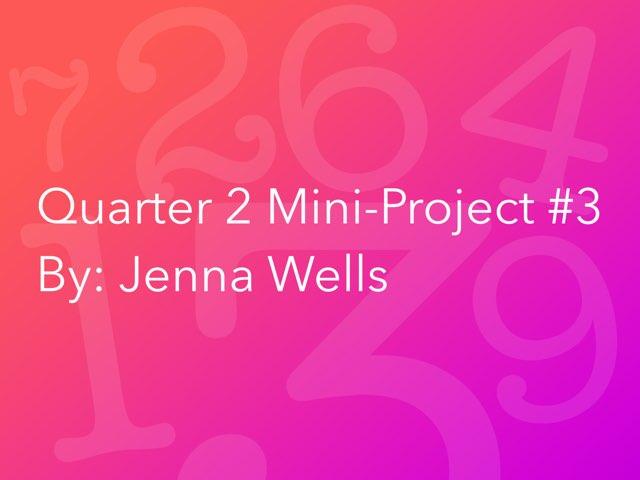 Math by Jenna wells