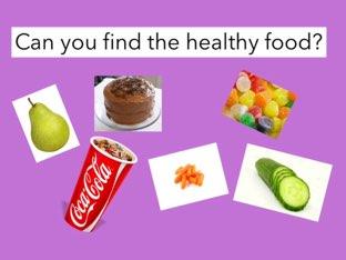 Healthy food by Beaufort school