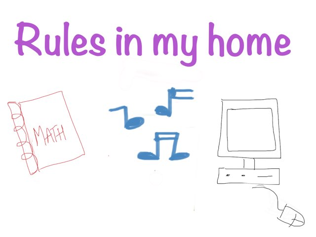 Teens 5-Rules in my home- Guessing Game by CTJ Online