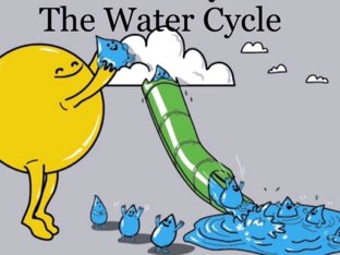 The water cycle  by Keriann McElroy