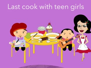 How to cook with teen girls  by Amira wazwaz