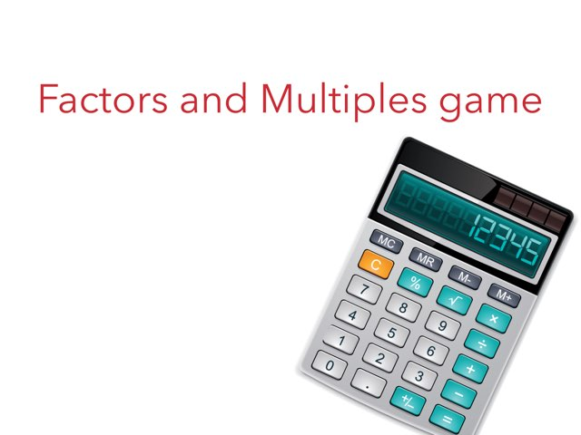 Factors and multiples  by Ali Campagna