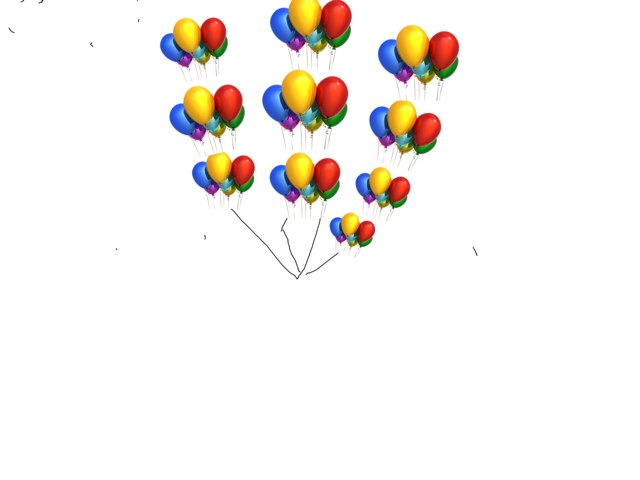 Save the balloons   by Khoua Vang