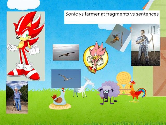 Sonic vs farmer  By Javier  by Javier monsivais