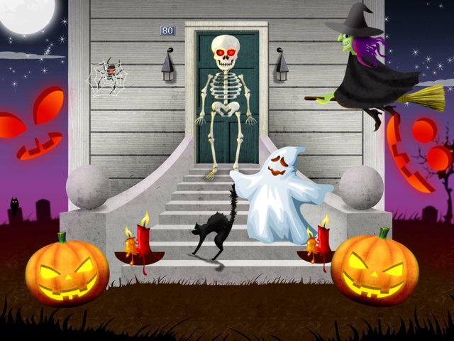 Halloween by Pam Heward