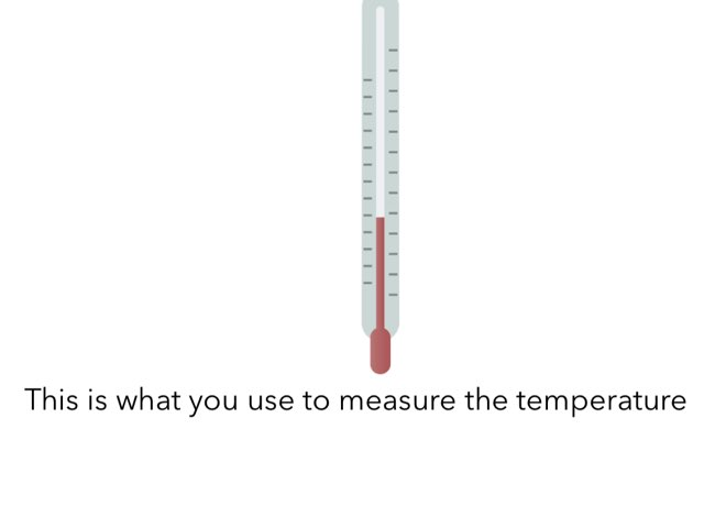 Temperature   by Stacy Groetzinger