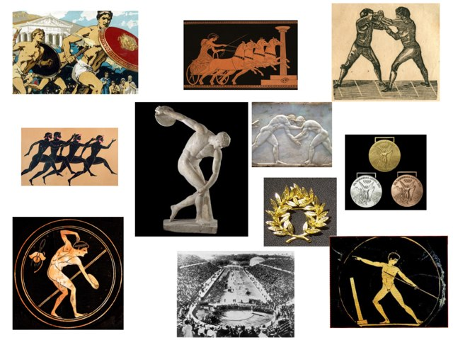 Ancient   Olympic Games by Chris Harton
