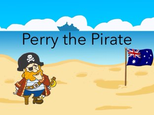 Perry the pirate by Melaina Polan