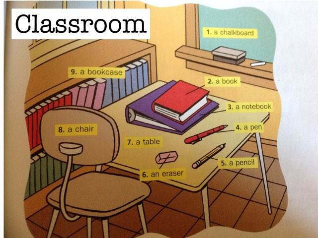 Classroom objects  by Adrienne Boblitz