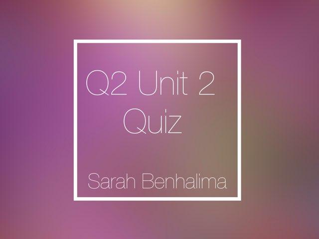 Math by Sarah Benhalima
