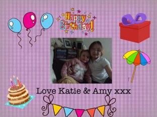 Happy Birthday by Katie Thornton