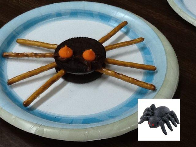 Making a spider by Amber Wyman