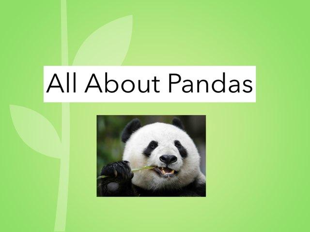 All about pandas by Bretta loeffler