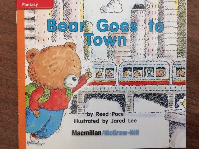 Bear Goes to Town, 2014, AM by Kara Johnson