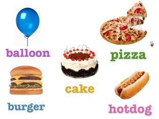 Food   Food and birthday Puzzles  by Asma Omar