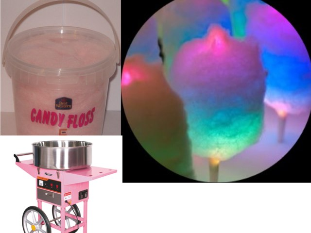 Candy floss  by Jodie Tranter