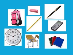 Classroom Objects!  by Hailey Dickie