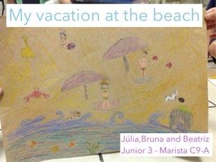 Junior 3 Beach vocabulary Present progressive by Thomas Jefferson