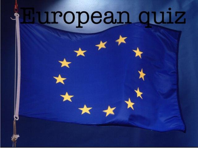 European quiz by Summer School