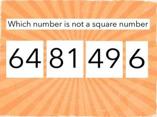 Maths quiz by Miss Howard