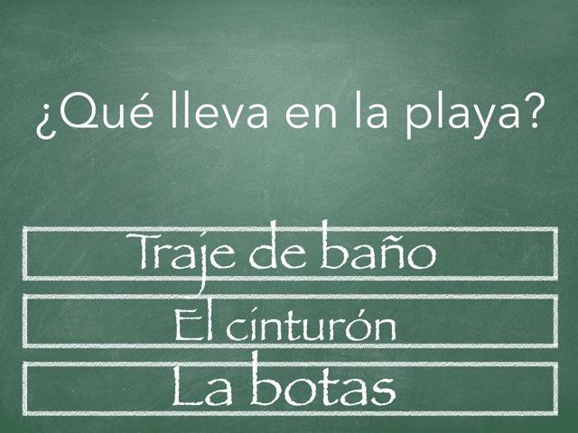 Spanish game. by Autumn Dellorso